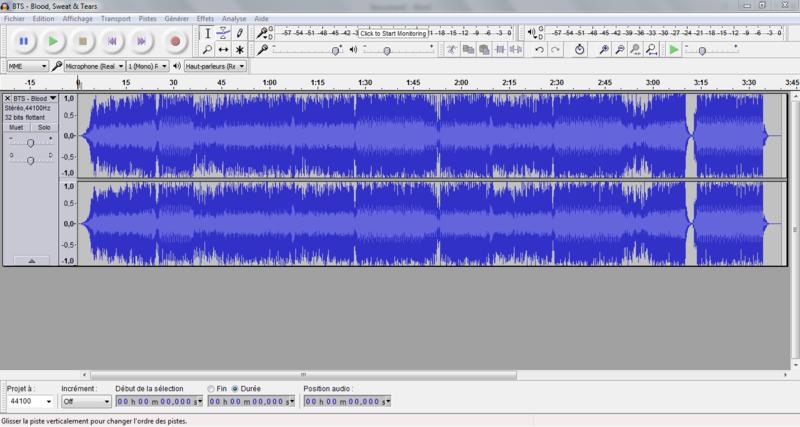 Trouver les harmonies d'une chanson avec l'aide d'Audacity Tuto110