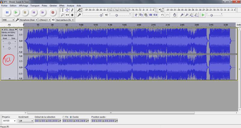 Trouver les harmonies d'une chanson avec l'aide d'Audacity Tuto210