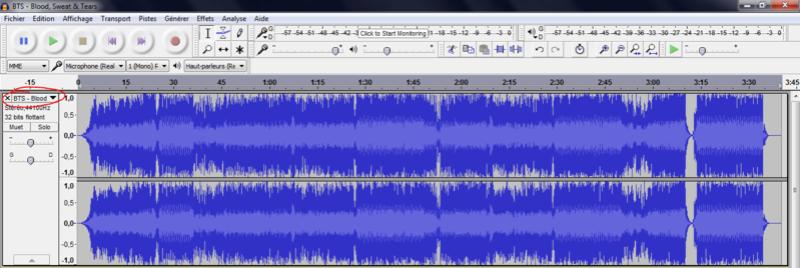 Trouver les harmonies d'une chanson avec l'aide d'Audacity Tuto410
