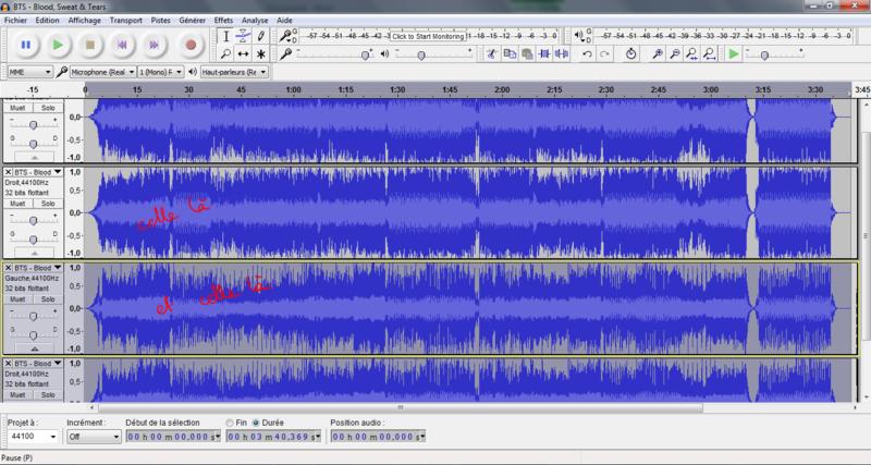 Trouver les harmonies d'une chanson avec l'aide d'Audacity Tuto510