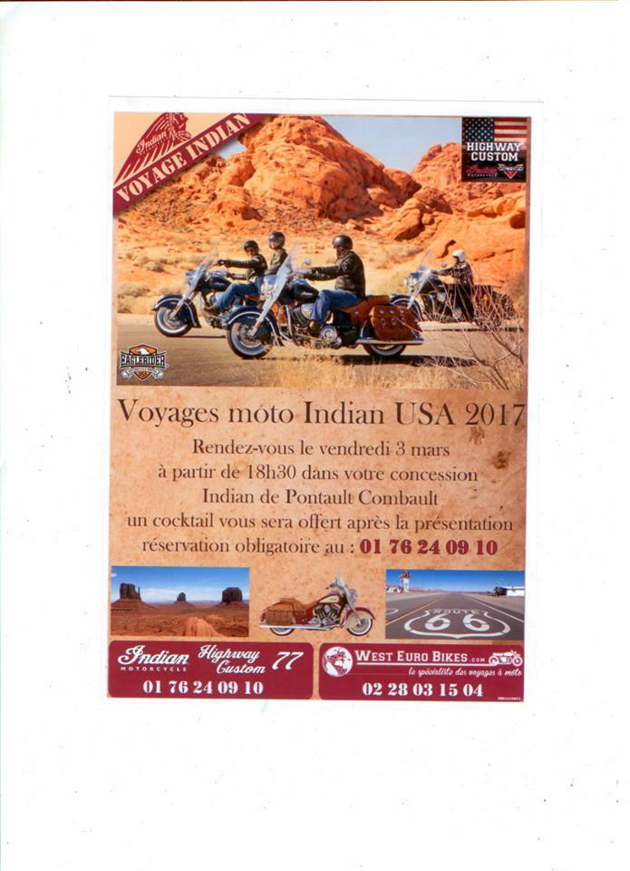 Soirée à Indian pontault combault le 3 Mars Pontau10