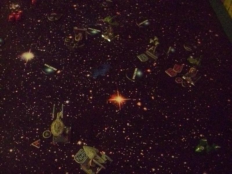 [130 Pkt.] Klingonen vs. Föderation Freundschaftsgeballer 00715