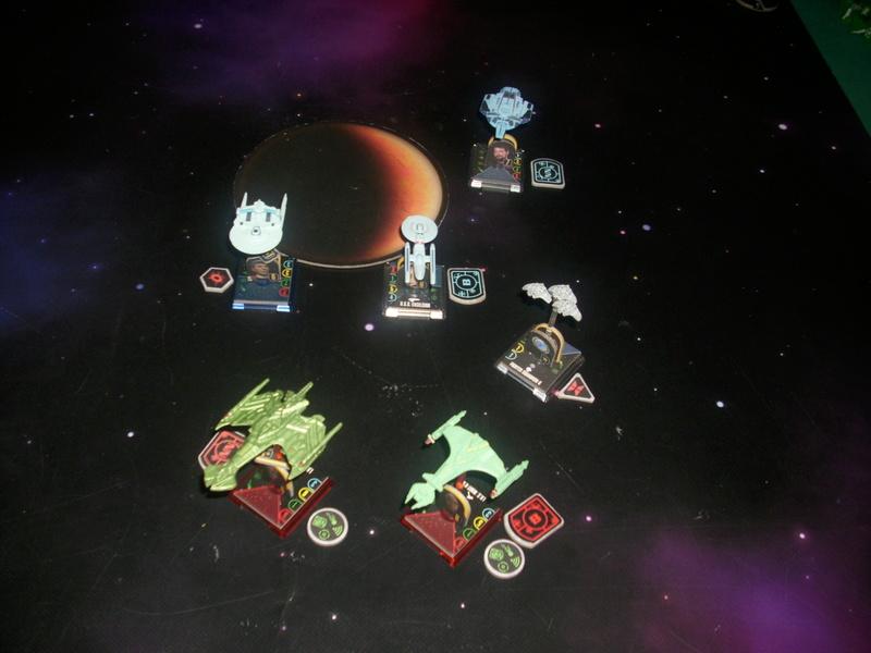 [130 Pkt.] Funspiel Föderation vs. Klingonen 00814