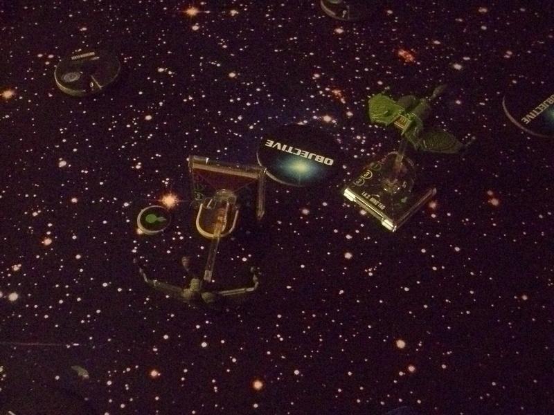 [130 Pkt.] Klingonen vs. Föderation Freundschaftsgeballer 00815
