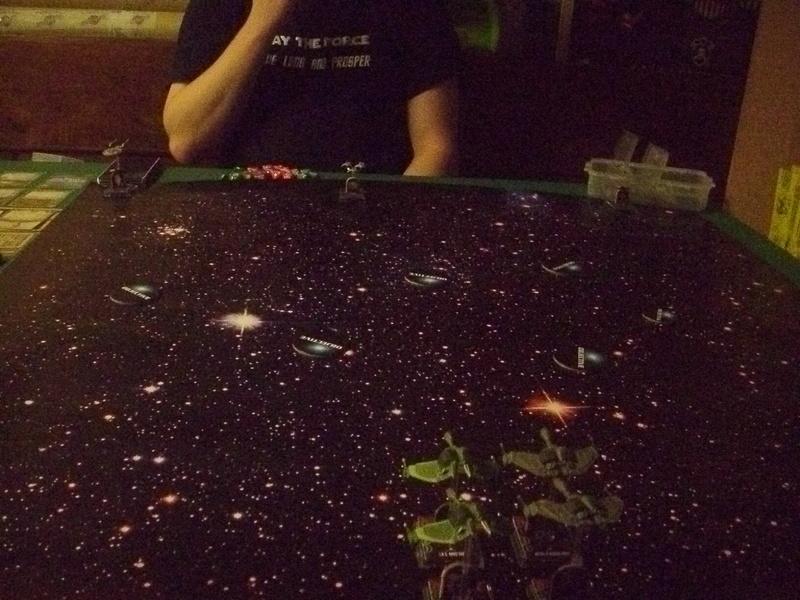 [130 Pkt.] Klingonen vs. Föderation Freundschaftsgeballer 02113
