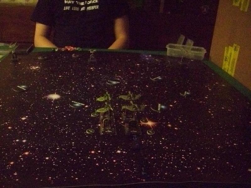 [130 Pkt.] Klingonen vs. Föderation Freundschaftsgeballer 02211
