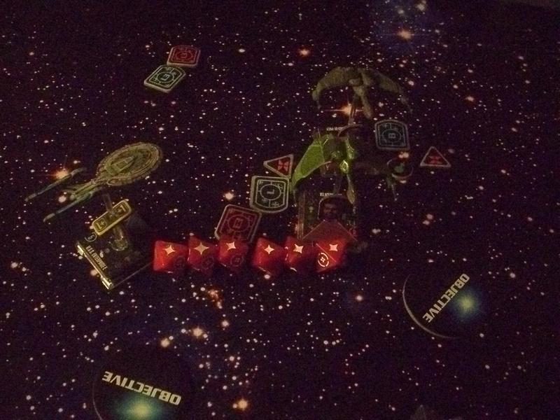 [130 Pkt.] Klingonen vs. Föderation Freundschaftsgeballer 02811