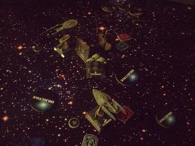 [130 Pkt.] Klingonen vs. Föderation Freundschaftsgeballer 03011
