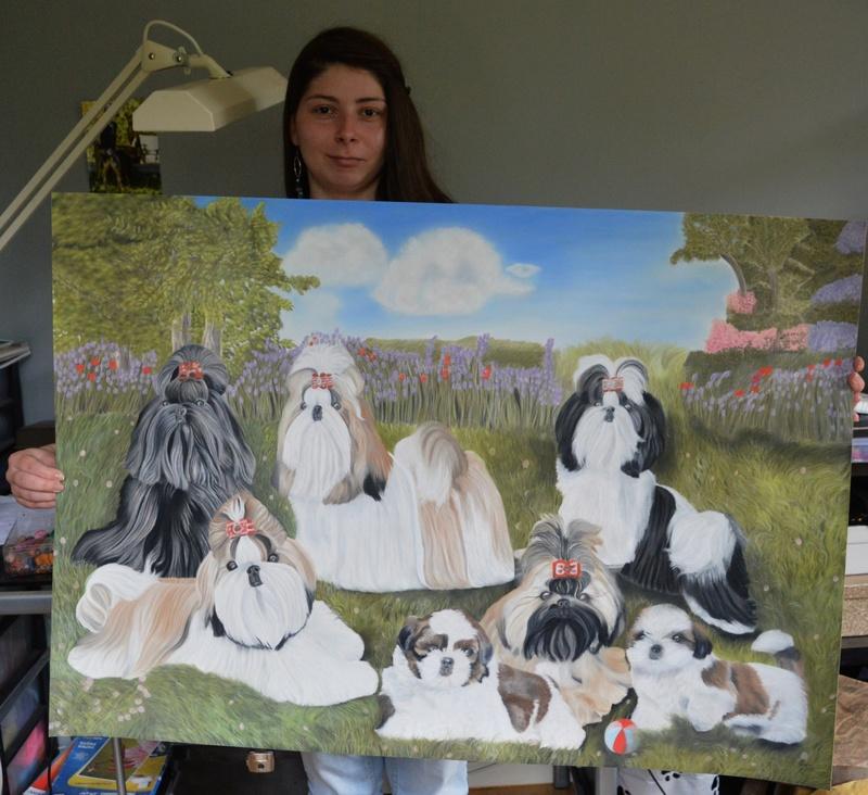 Portraits animalier et quelques dessins personnels - Page 2 12111