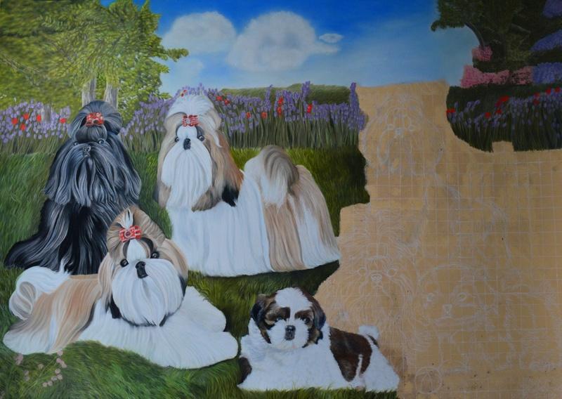Portraits animalier et quelques dessins personnels 3110
