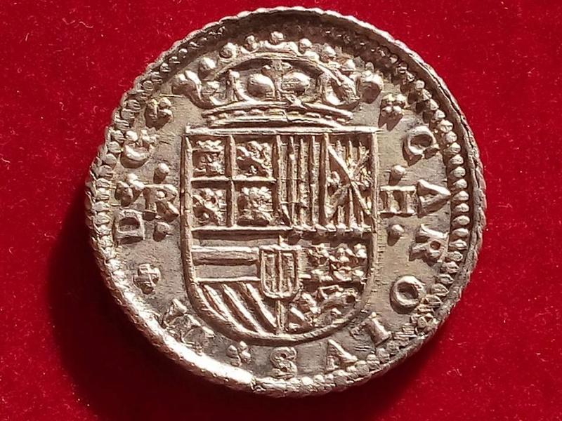 Dos reales Carlos III, Pretendiente1708. Barcelona.  18527610