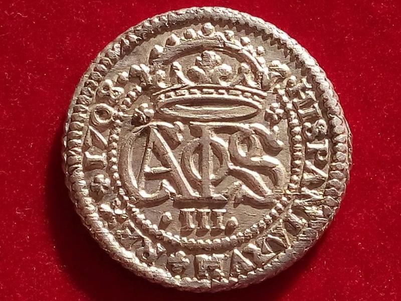 Dos reales Carlos III, Pretendiente1708. Barcelona.  18581511