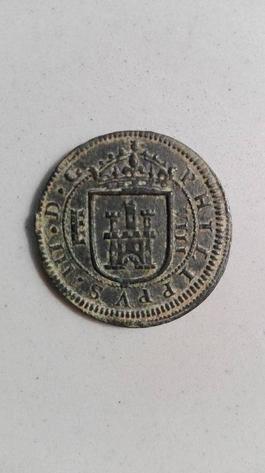 8 maravedís Felipe III 1.618. Segovia 18581912