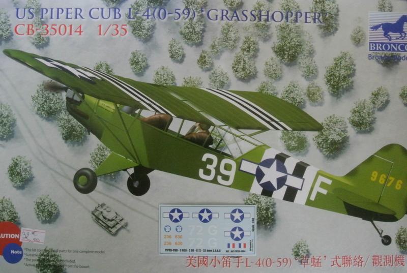 Piper Cub L-4 RAC 2E DB ( Bronco et déco JAPmodel ) 1/35 213