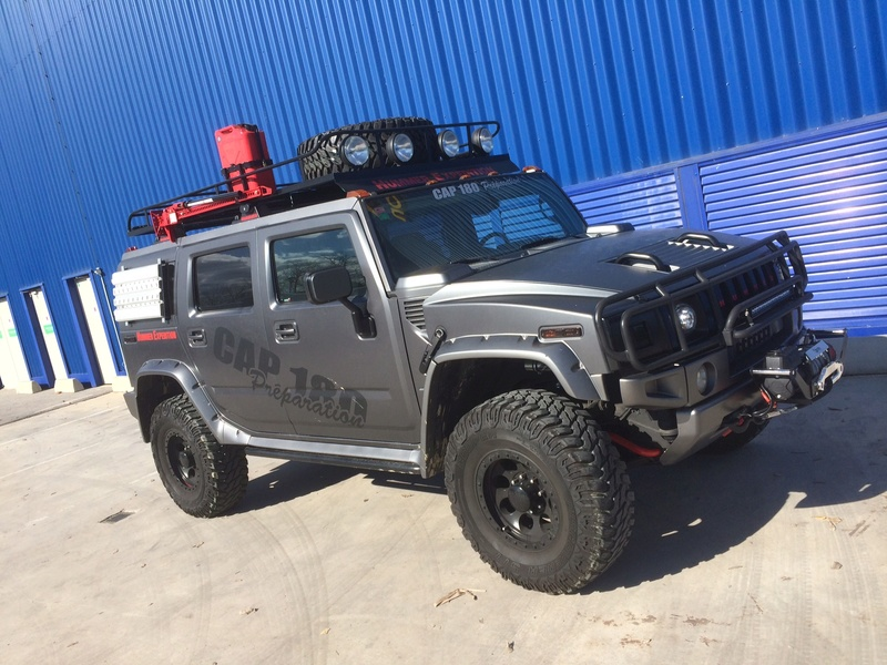 Hummer H2 preparation raid VENDU Image11