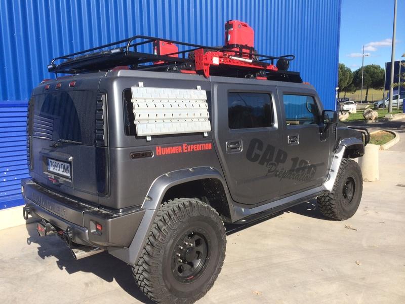 Hummer H2 preparation raid VENDU Image210
