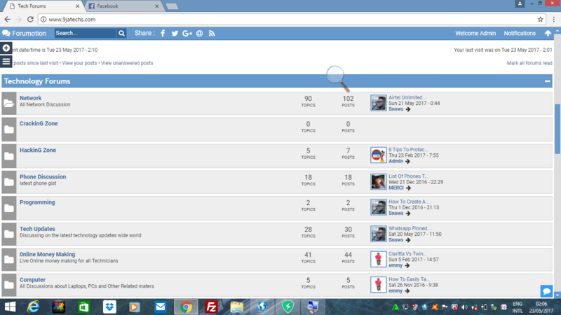 HOW  TO CREATE NEW TOPIC AT 9JATECHS FORUMS Screen11