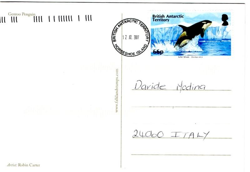 BAT Territorio Antártico Británico - Isla Horseshoe - Oficina de Correos Temporal ¡Última hora! Horses10