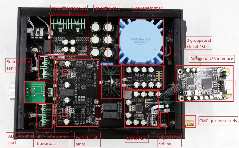 Nuovo ampli cuffia Audio gd NFB-11.28  N1128711