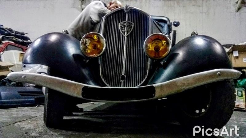 Préparation de la 401 à la Salón del Classicauto à Madrid Image13