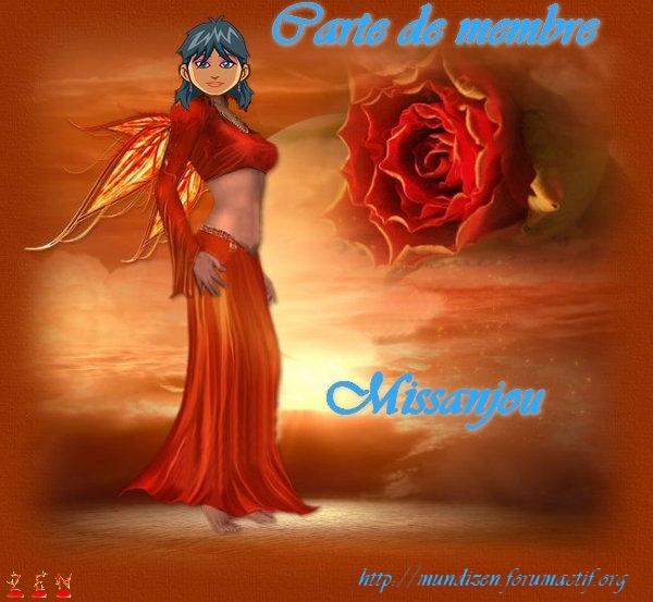 Carte de membre Missanjou Sans_t22