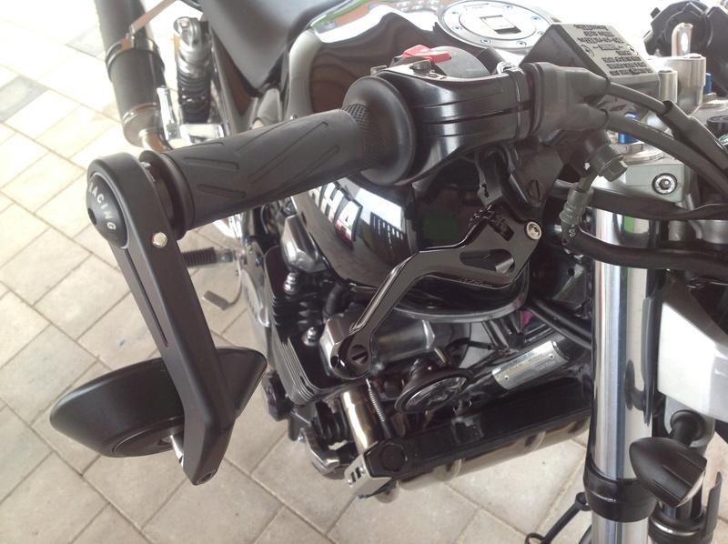 Levier court MFW noir CNC frein + embrayge NEUF Image17