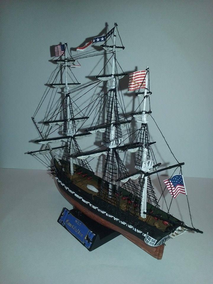 USS Constitution Pyro 1/400 16809611