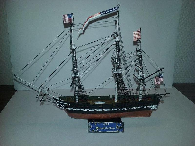 USS Constitution Pyro 1/400 16809811
