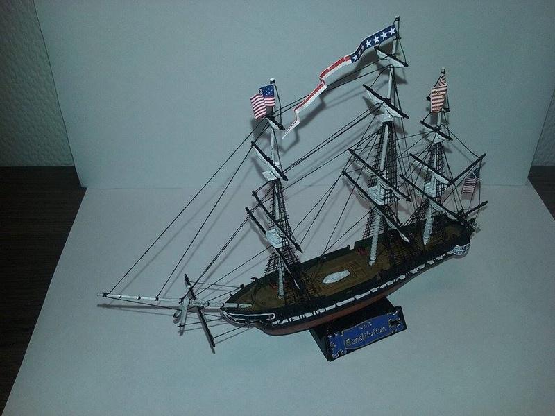 USS Constitution Pyro 1/400 16810011