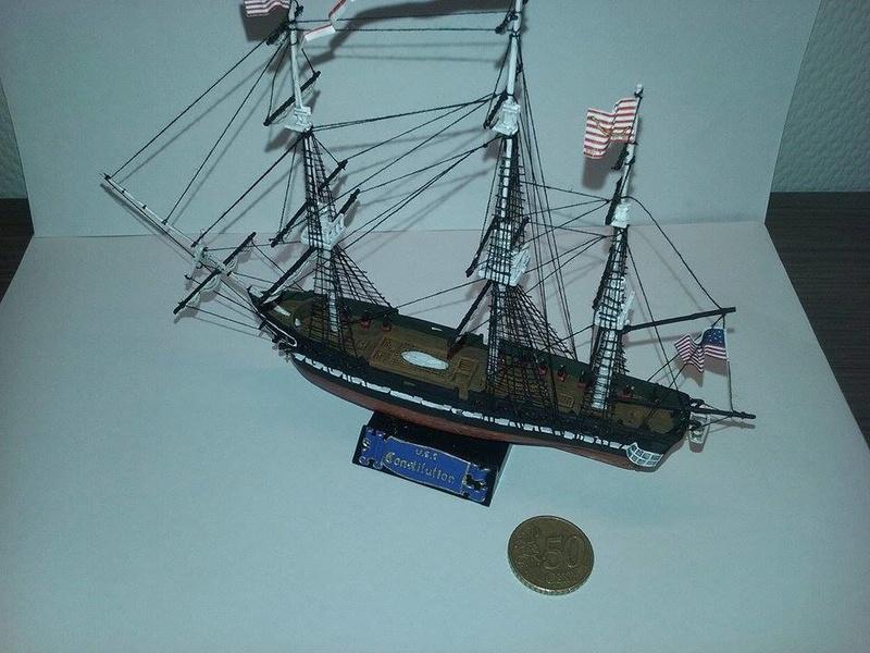 USS Constitution Pyro 1/400 16831211