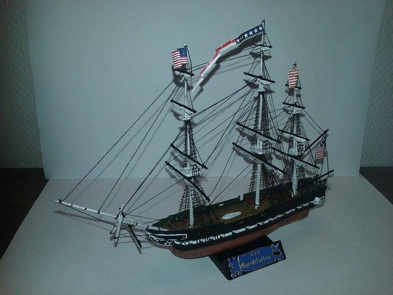 USS Constitution Pyro 1/400 16831511