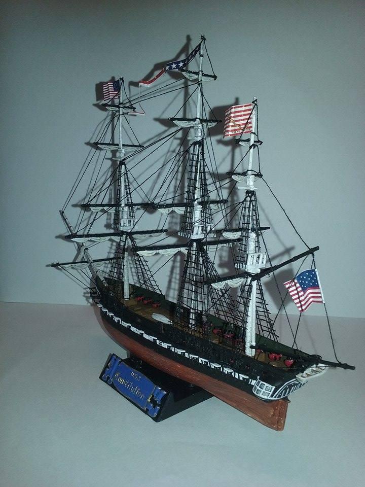 USS Constitution Pyro 1/400 16839411