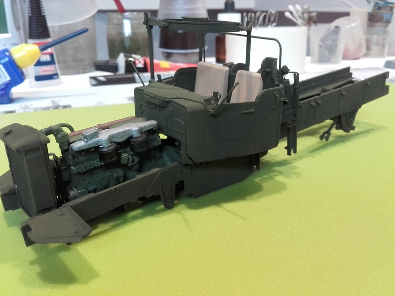 US M19 Tank Transporter MERIT 1/35 - Page 2 20170419