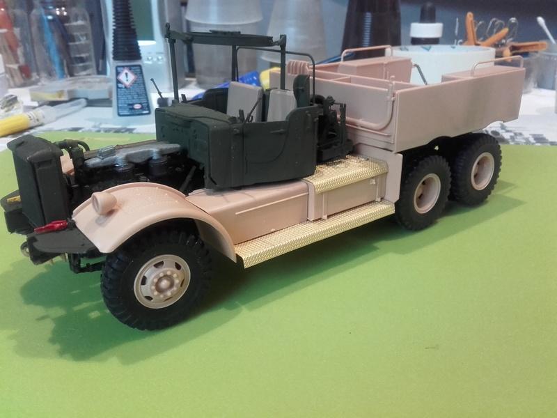 US M19 Tank Transporter MERIT 1/35 - Page 2 20170521