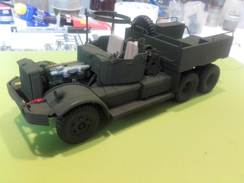US M19 Tank Transporter MERIT 1/35 - Page 2 20170524