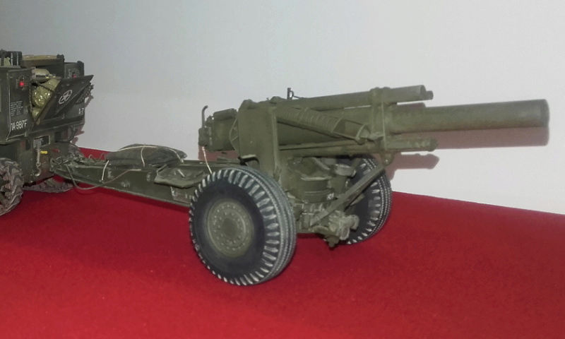 High speed tractor + 155 howitzer HOBBY BOSS 1/35 Screen10