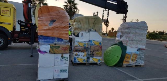 3 pallets aangekomen bij Canis y Felis 1018