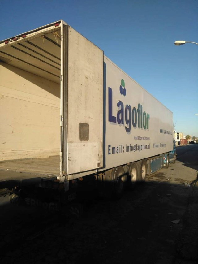 Transport 2 pallets aangekomen bij Canis y Felis 1029