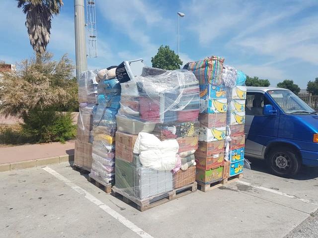 14 juni transport aangekomen in Spanje (Aurora) 123