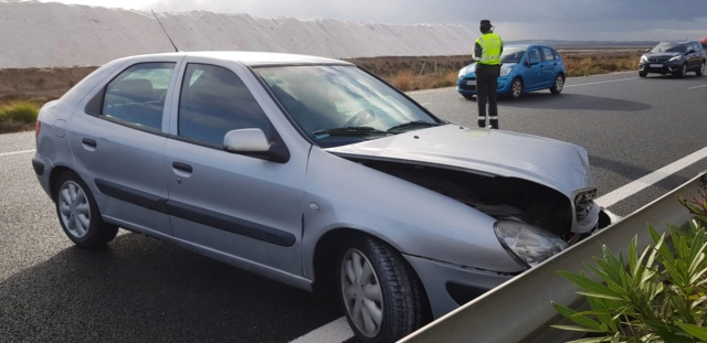 Olga betrokken bij een auto ongeluk 46482010