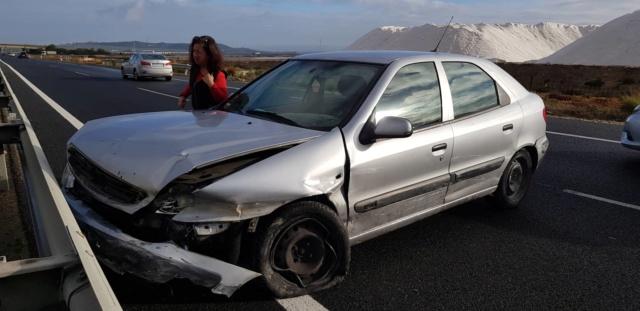 Olga betrokken bij een auto ongeluk 46519110