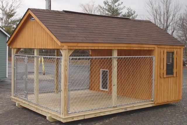 50% actie - Nieuwe kennels voor de honden van Masquechuchos Honden10