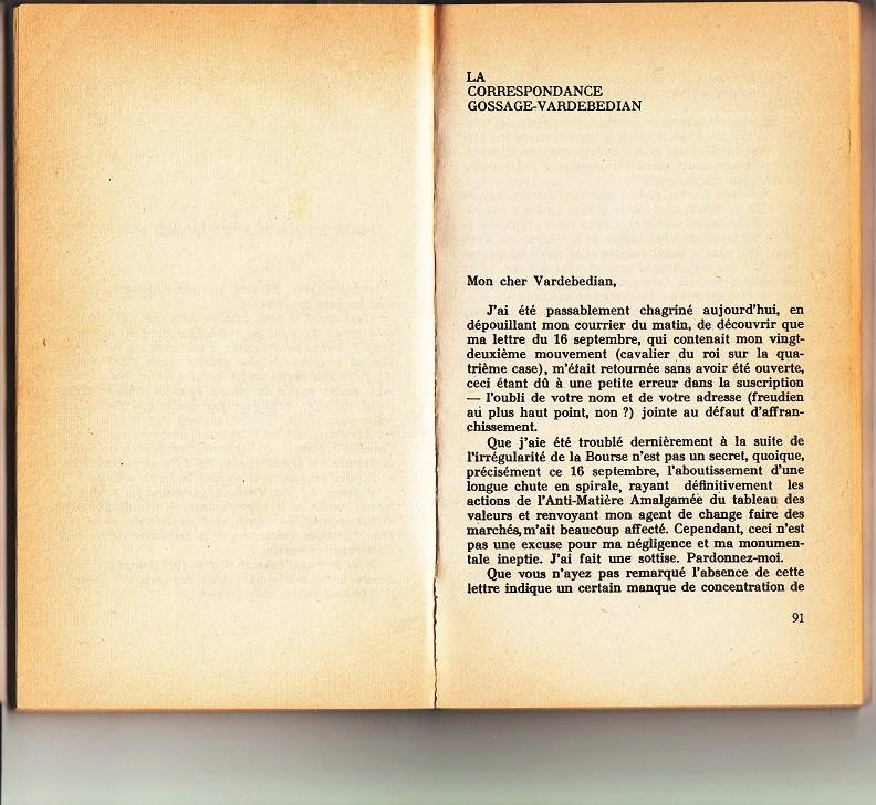 La correspondance Gossage-Vardebedian relatée par Woody Allen Feuill11