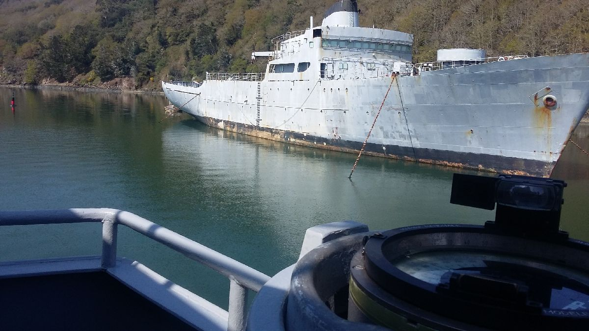 [Le cimetière des bateaux et du patrimoine de la Marine] Le cimetière de LANDEVENNEC - Page 26 20170413