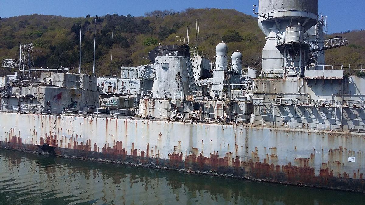 [Le cimetière des bateaux et du patrimoine de la Marine] Le cimetière de LANDEVENNEC - Page 26 20170414