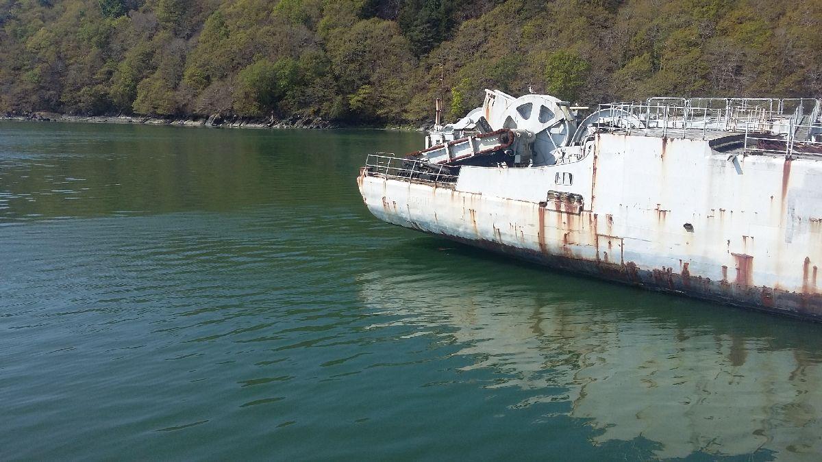 [Le cimetière des bateaux et du patrimoine de la Marine] Le cimetière de LANDEVENNEC - Page 26 20170416
