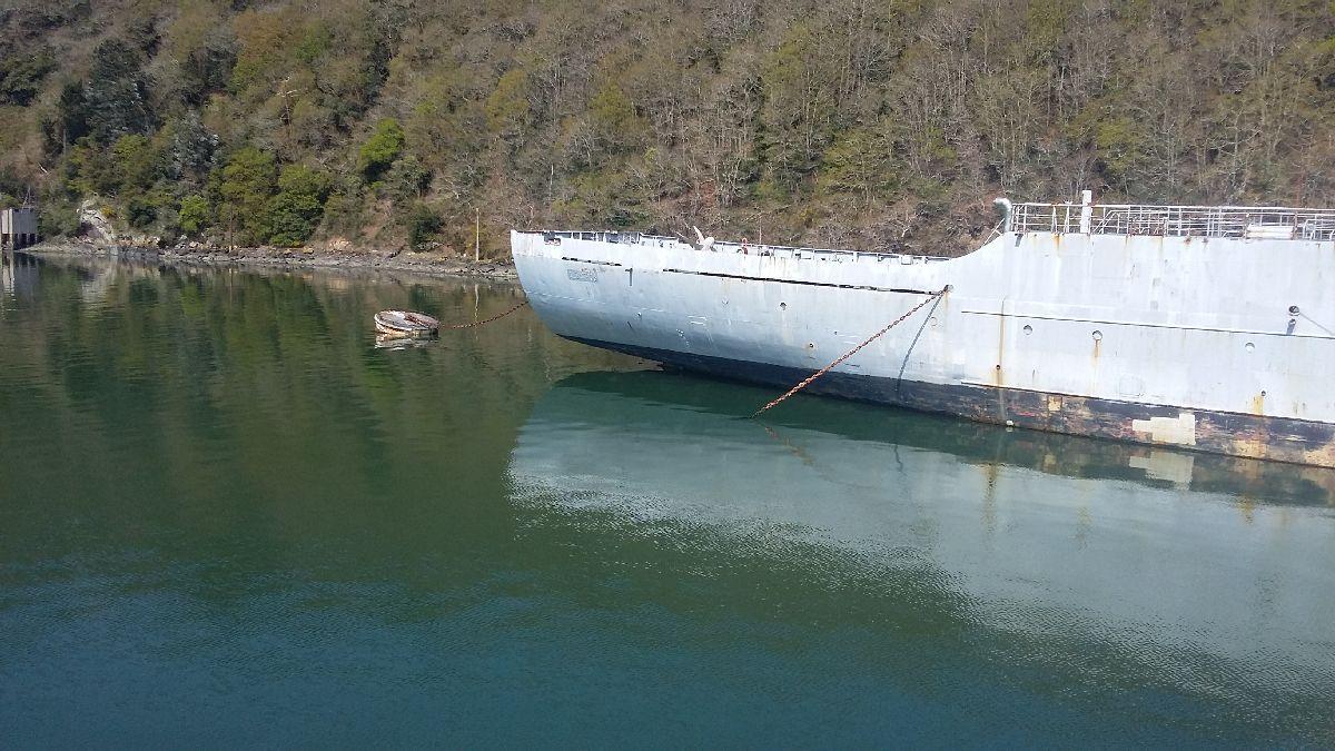 [Le cimetière des bateaux et du patrimoine de la Marine] Le cimetière de LANDEVENNEC - Page 26 20170417
