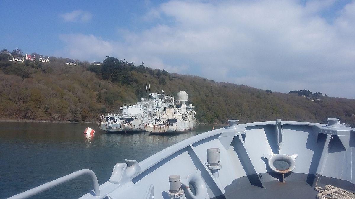 [Le cimetière des bateaux et du patrimoine de la Marine] Le cimetière de LANDEVENNEC - Page 26 20170419