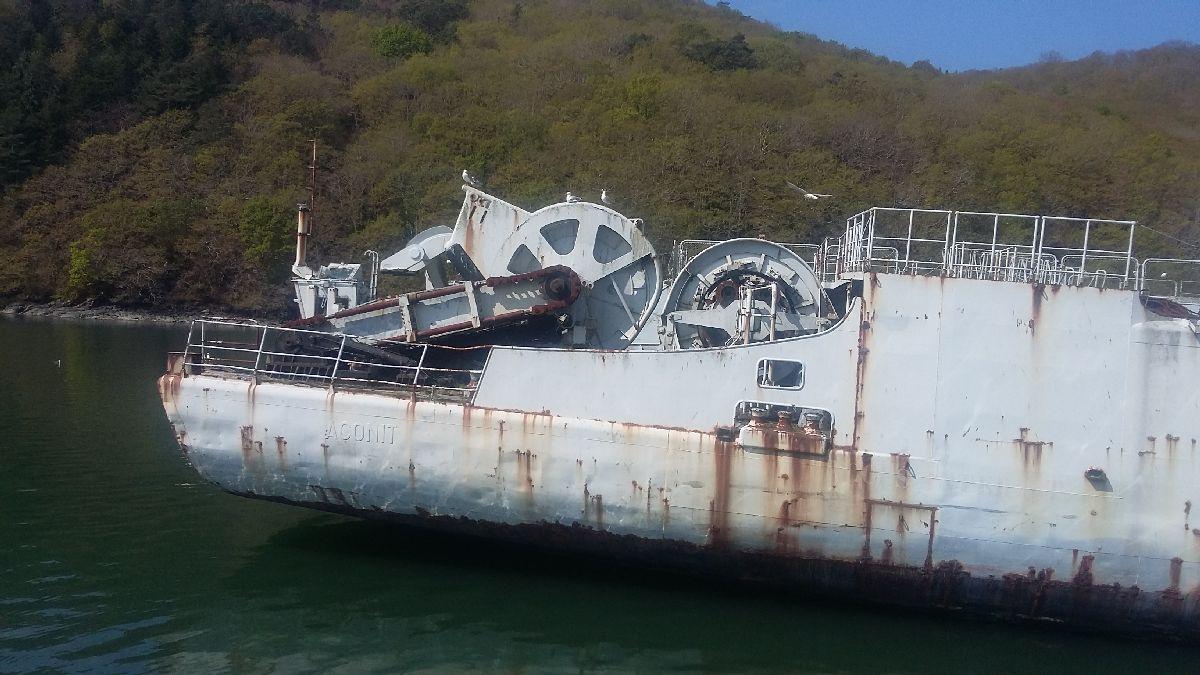 [Le cimetière des bateaux et du patrimoine de la Marine] Le cimetière de LANDEVENNEC - Page 26 20170421