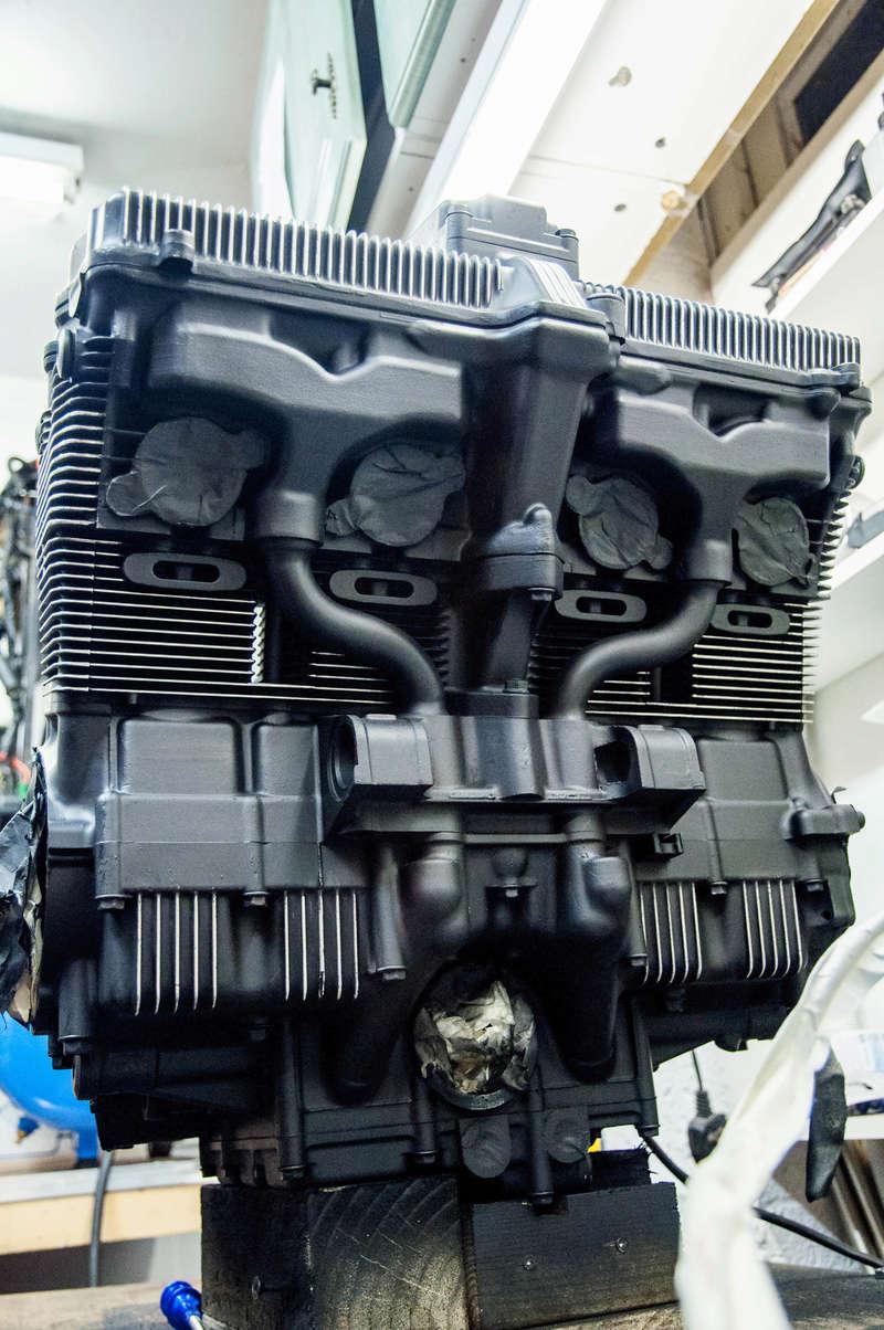 Suzuki Bandit n600 REbuild Progress.  Dsc_0016